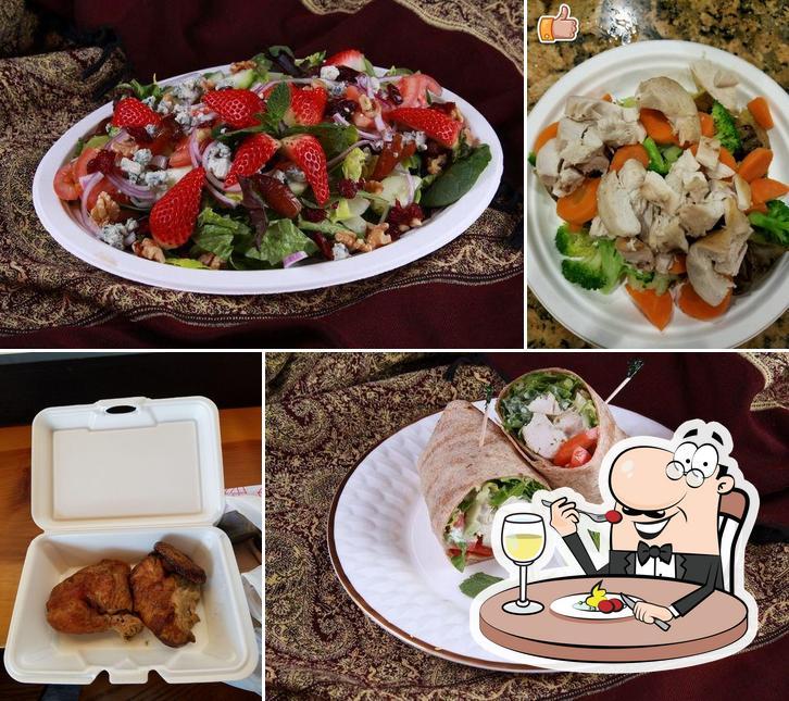 Food at Chixy Natural