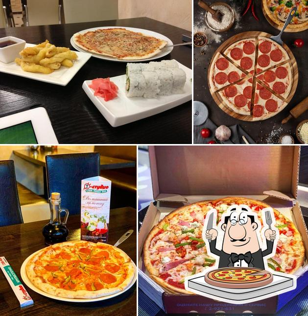 Get pizza at T-Studio Vladivostok