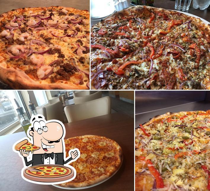 В Eldofninn pizzeria вы можете отведать пиццу