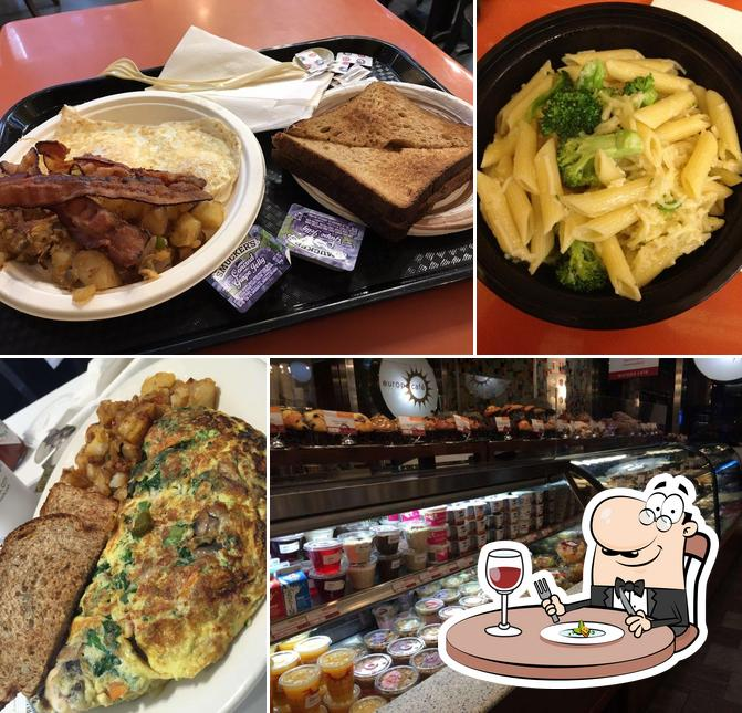 Meals at Europa Cafe