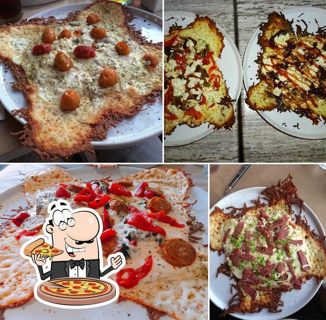 Essayez de nombreux genres de pizzas