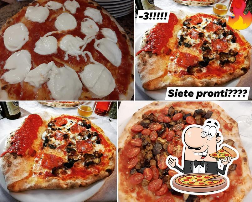 Elige entre diferentes modelos de pizza