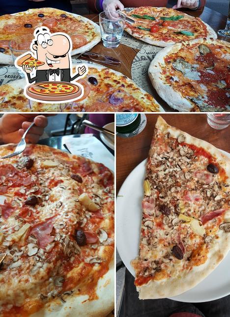 Kostet eine Pizza bei L'Osteria Dresden Wilsdruffer Straße