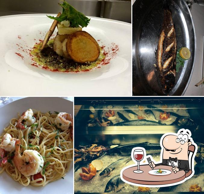 Food at Osteria Acqua & Farina
