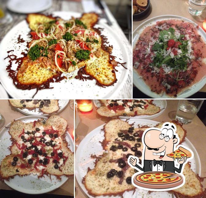 Essayez des pizzas à Pizzaio