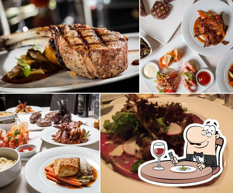 Food at Cafe Central