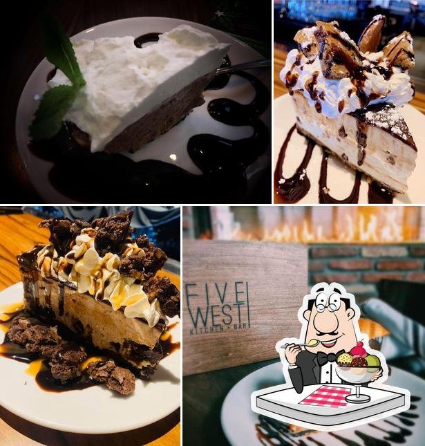Five West provides a number of desserts