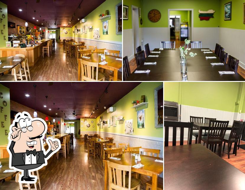 The interior of Wild Owl Cafe