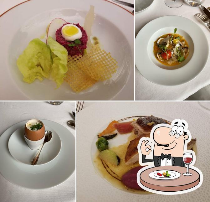 Food at Arpège