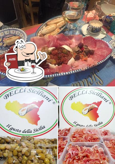 Platos en Belli Siciliani