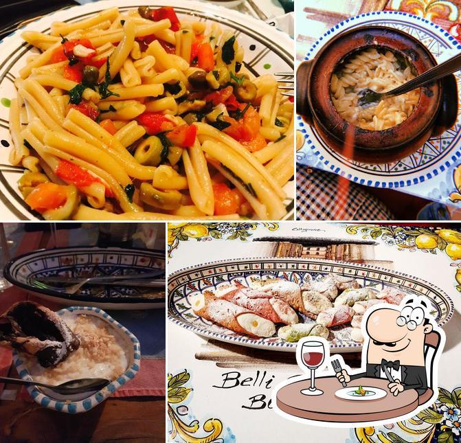 Comida en Belli Siciliani