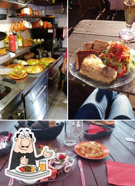 Comida en Bootsterassen
