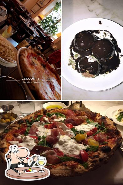 Food at Cecconi's Barcelona