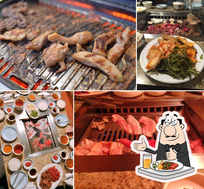 Meals at Cham Garden Korean BBQ