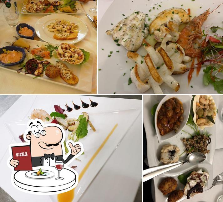 Еда в Dal Pescatore