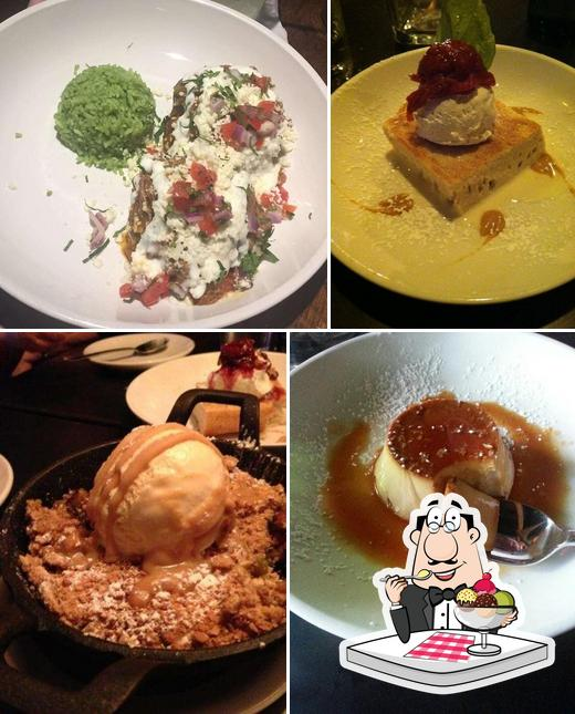 Delicia offers a variety of sweet dishes
