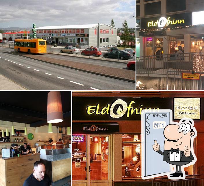 See this pic of Eldofninn pizzeria