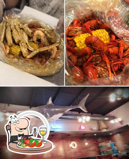 Try out seafood at Hotspot Cajun seafood house