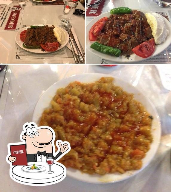 Food at İskender