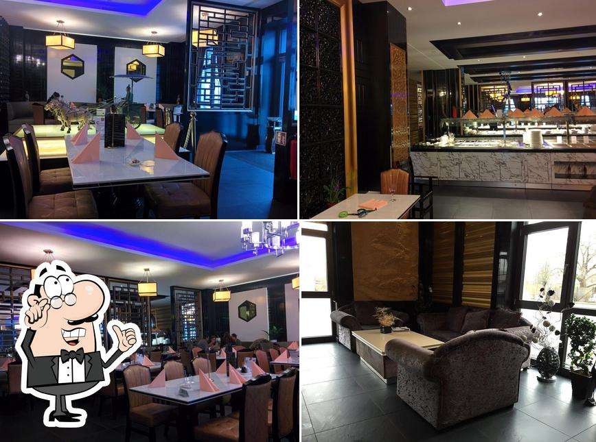 The interior of Keio Gourmet