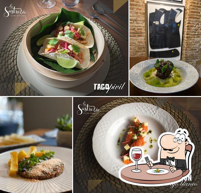 Platos en La Sastrería Cocina Artesana