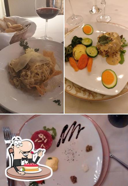La Vecia Mescola provides a variety of desserts