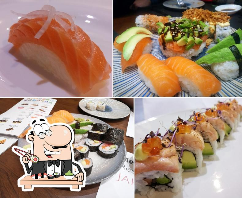 Get different sushi options