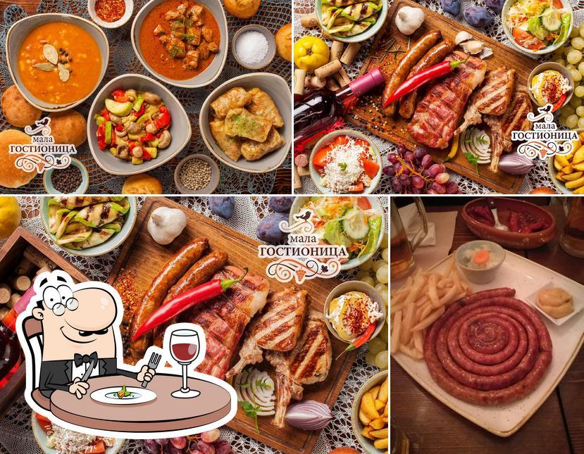 Food at Mala gostionica