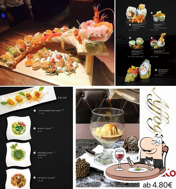 Еда в Miyako Sushi Grill & more
