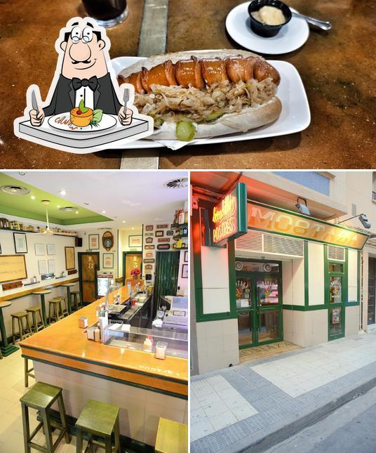 Comida en Mostaza