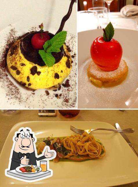 Еда в Osteria di Mezzo