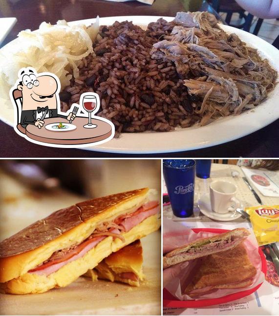 Food at Pepe's Cuban Cafe