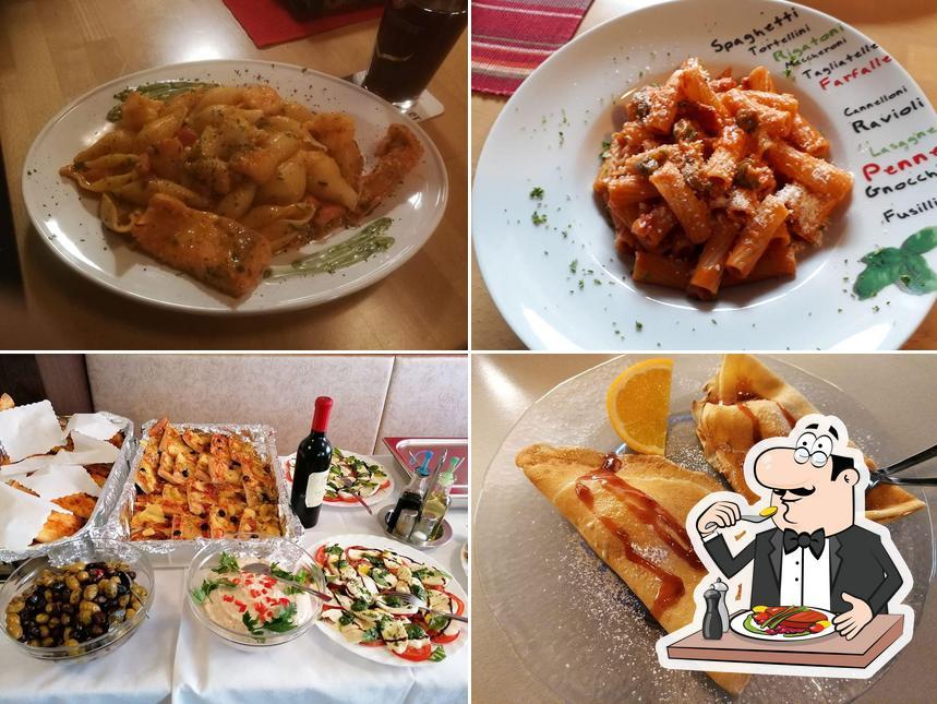 Essen im Pizzeria Da Gino