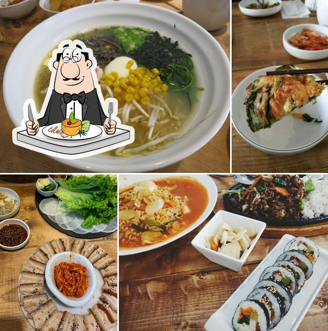 Food at Samsoonie Noodle And Rice
