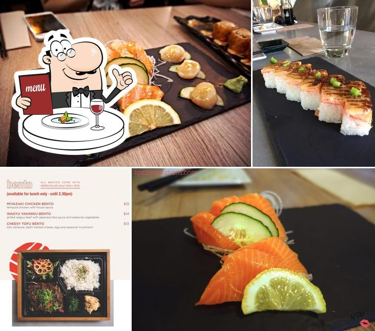 Food at The Modern Eatery