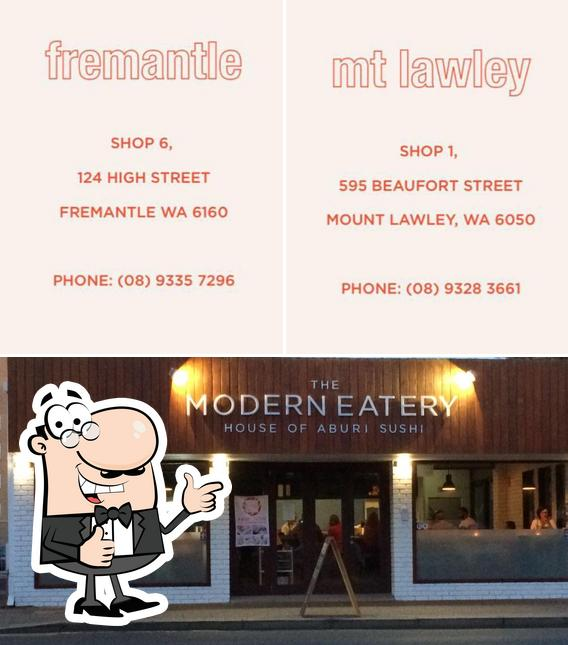 See the pic of The Modern Eatery