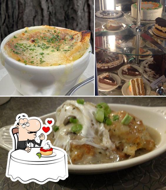 Veggie Galaxy представляет гостям большой выбор сладких блюд