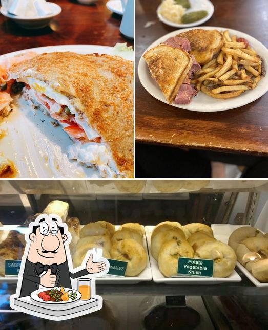 Food at Zaidy's Deli Cherry Creek
