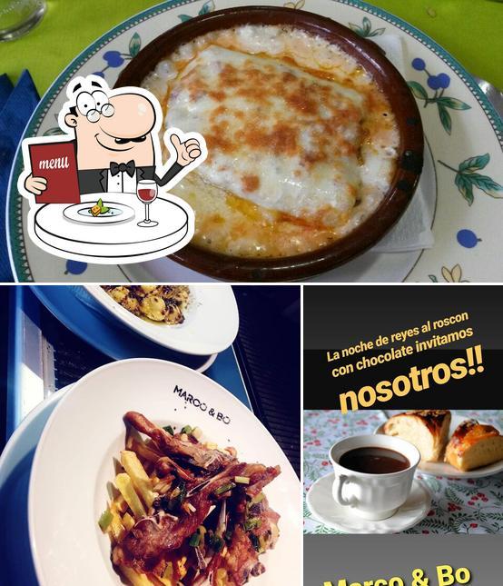 Comida en Restaurante Mediterraneo Marco & Bo