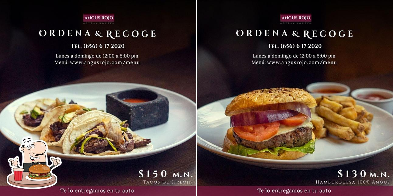Try out a burger at Angus Rojo