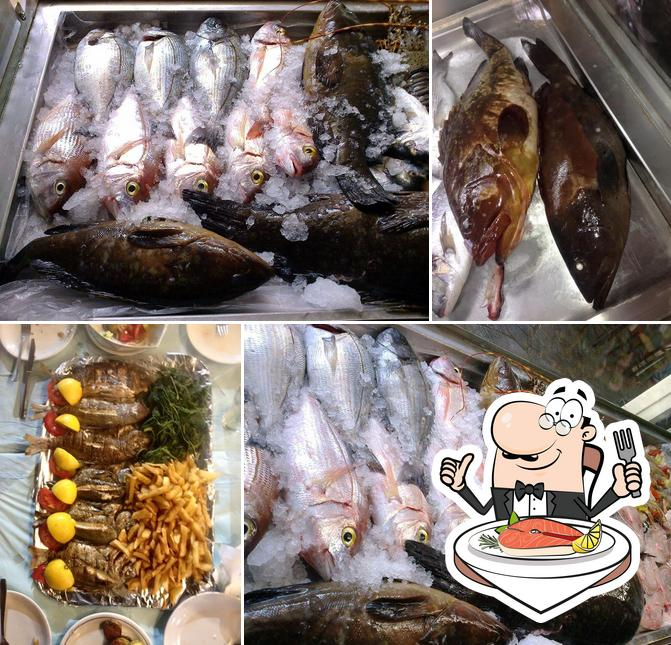 Tzitzifia offers a number of fish meals