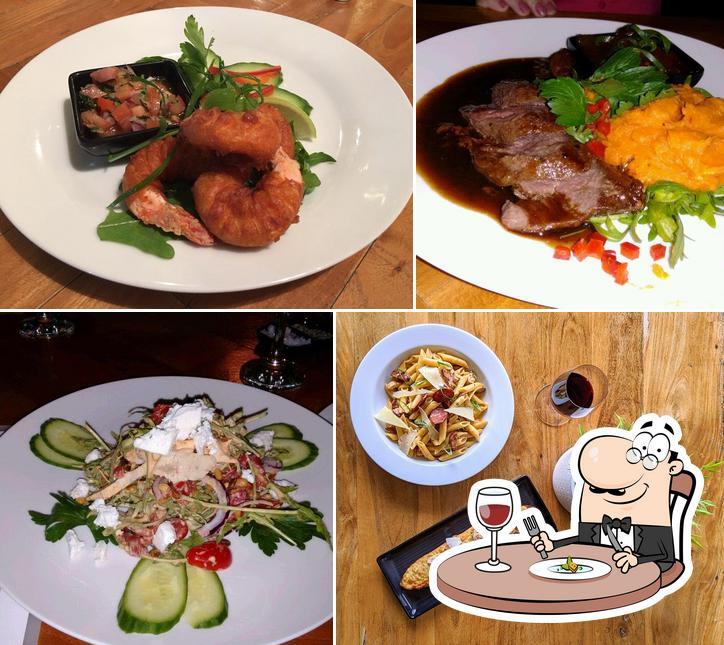 Food at Vivaldis Restaurant