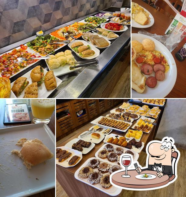 Comida em Olga Pão de Queijo