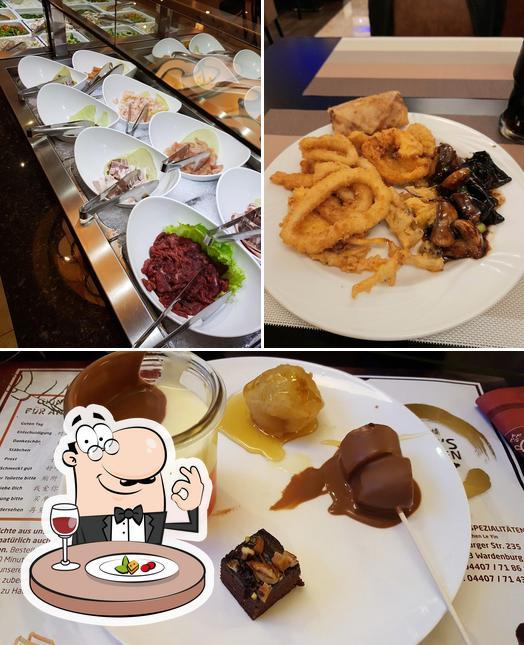 Comida en Chinesisches Restaurant Golden Wu