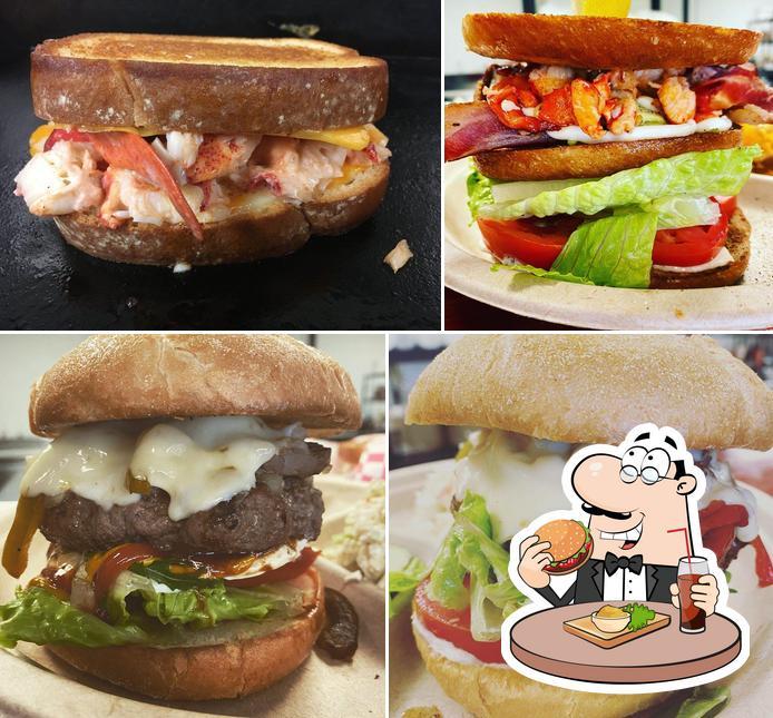 Get a burger at Joe Loves Lobster Rolls