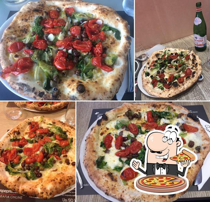 Prova una pizza a 50 Kalò Di Ciro Salvo