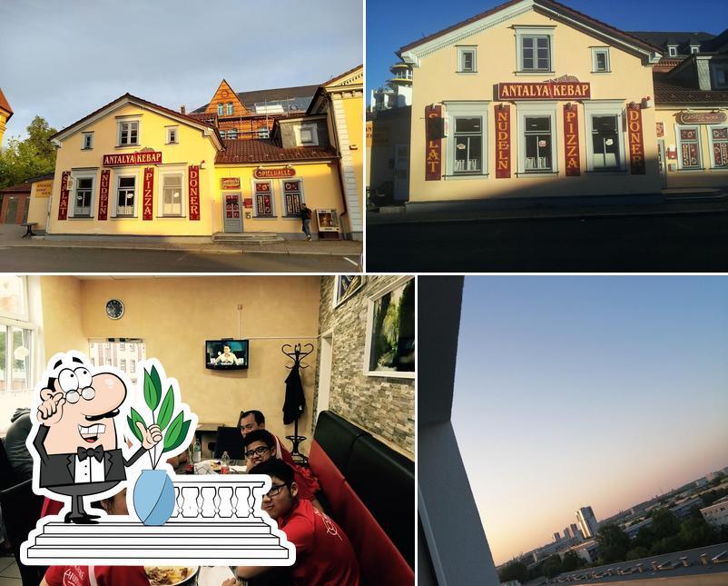 The exterior of Antalya Doner-Kebap-Pizza Haus