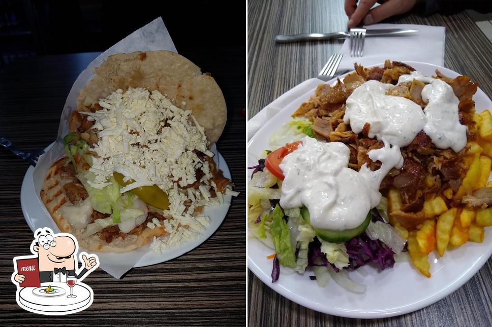 Food at Antalya Doner-Kebap-Pizza Haus