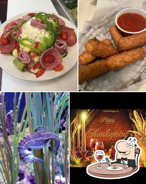 Еда в Graziano's