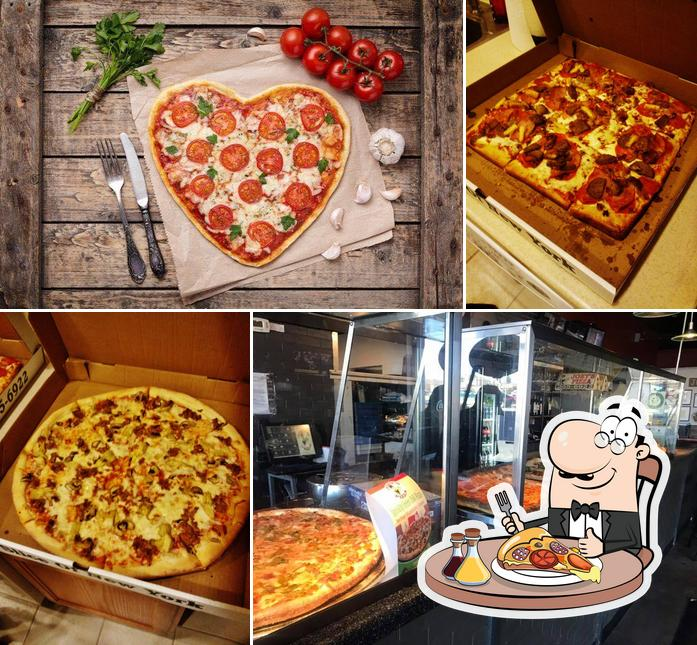 Try out pizza at Joey's Pizza